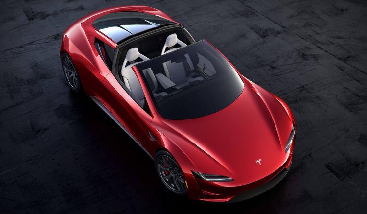 Выпуск спортивного электрокара Tesla Roadster второго поколения начнётся только в 2022 году