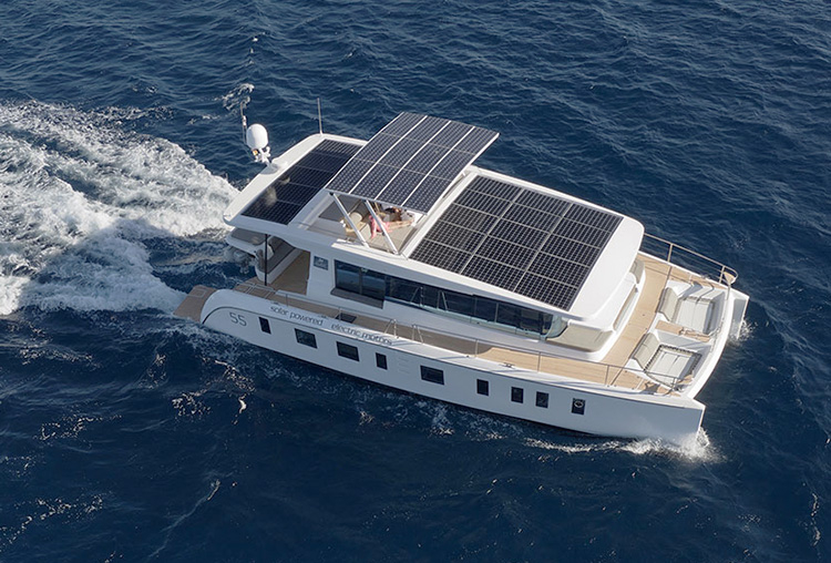Модель Silent 55 от Silent Yachts