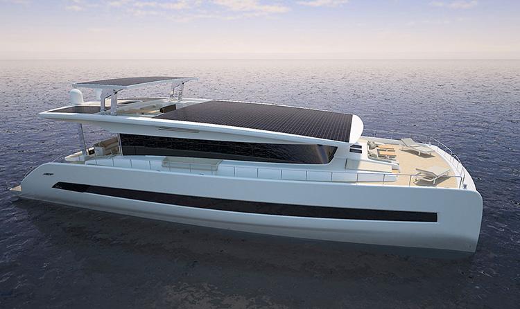Модель Silent 80 от Silent Yachts