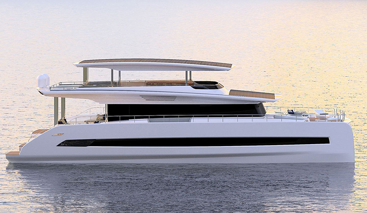 Трёхпалубная модель Silent 80 от Silent Yachts