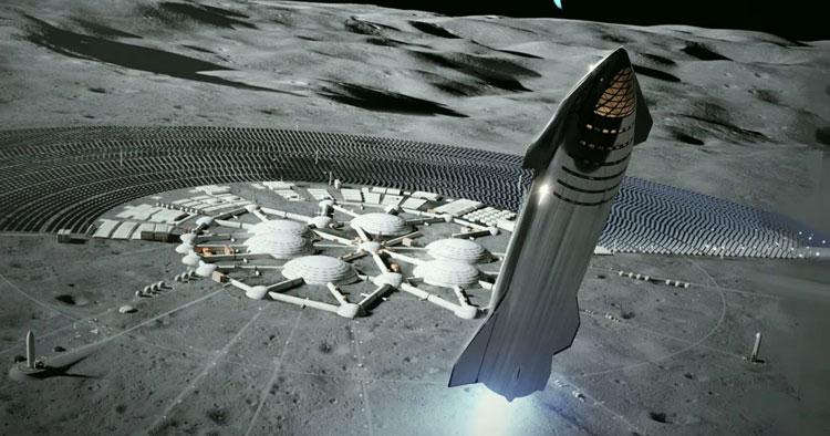 Нашлись первые свидетельства, что Земля пополняет водный запас Луны