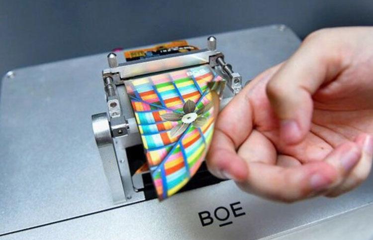 Гибкий OLED-экран компании BOE