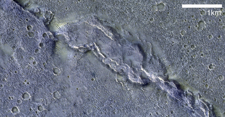 Фото дня: Гряда Солнца глазами орбитального модуля миссии ExoMars