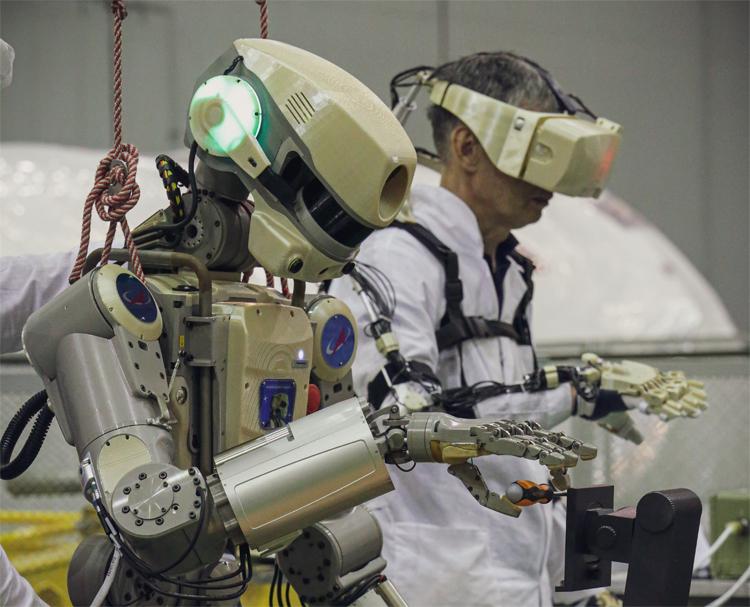 Российские роботы смогут чувствовать тепло и холод, а также различать типы поверхностей