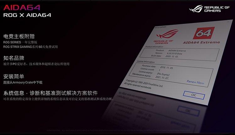 """ASUS интегрировала ПО для проверки ОЗУ MemTest86 прямо в UEFI материнских плат Z590"""""""