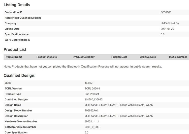 Готовится бюджетный смартфон на замену модели Nokia 2.4