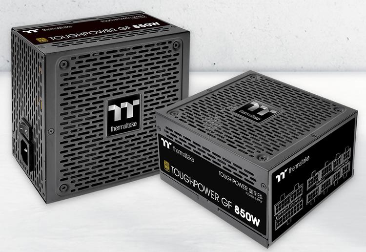 Блоки питания Thermaltake Toughpower GF оснащены полностью модульной системой кабелей