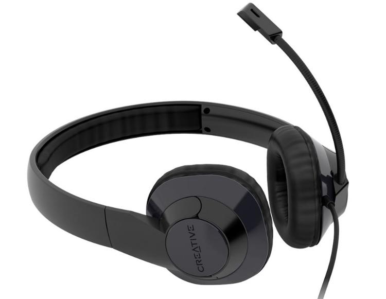 Creative представила недорогую гарнитуру HS-720 V2 с USB-подключением для удалённой работы