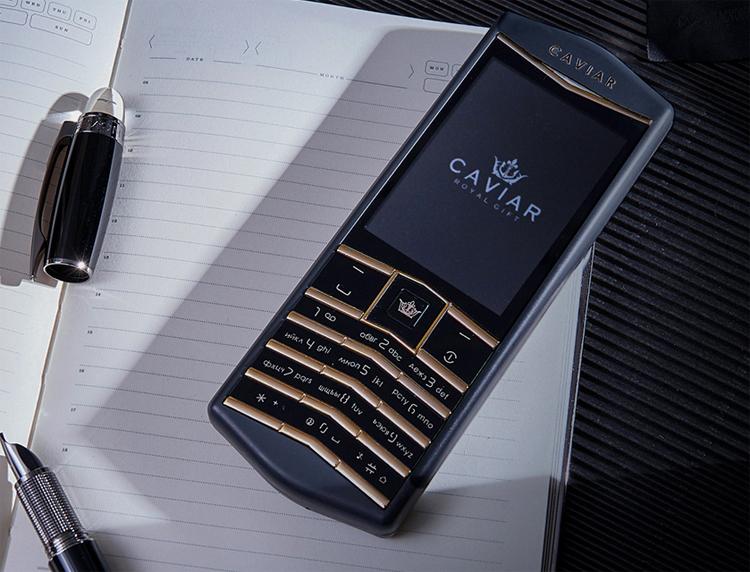 Caviar выпустит кнопочный Android-телефон Origin в стиле Vertu по цене от $1000