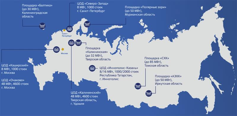 Проект строительства глобальной сети дата-центров концерна «Росэнергоатом»
