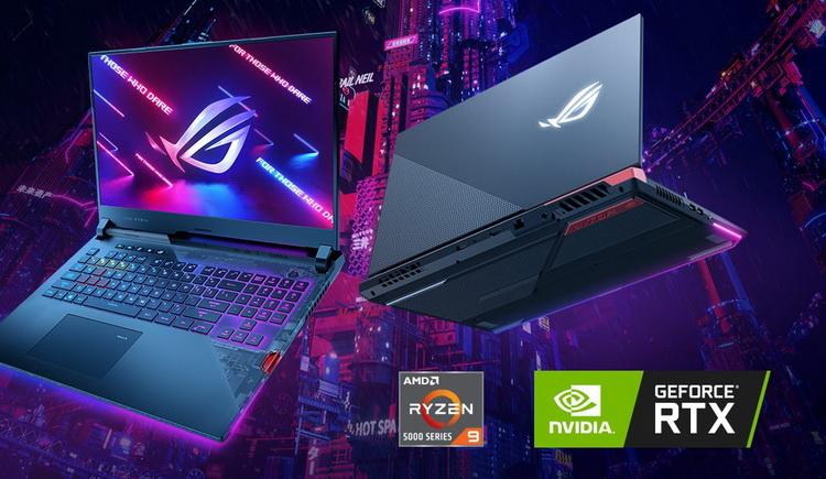 """ASUS уточнила, какие версии видеокарт GeForce RTX 30-й серии используются в ноутбуках ROG и TUF— названы частоты и TGP"""""""