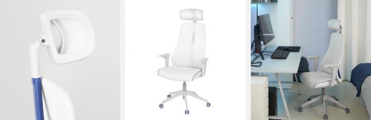 Кресло серии Matchspel (белое)