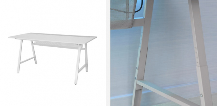 Игровой стол Uppspel с механической регулировкой высоты
