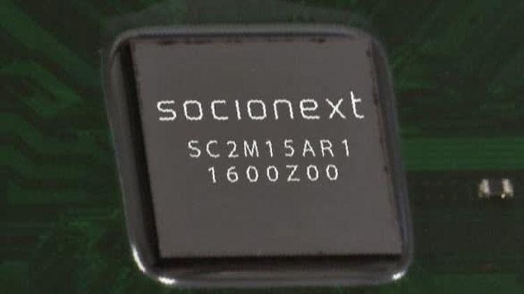 Японский разработчик Socionext создал 5-нм процессор для систем автопилота