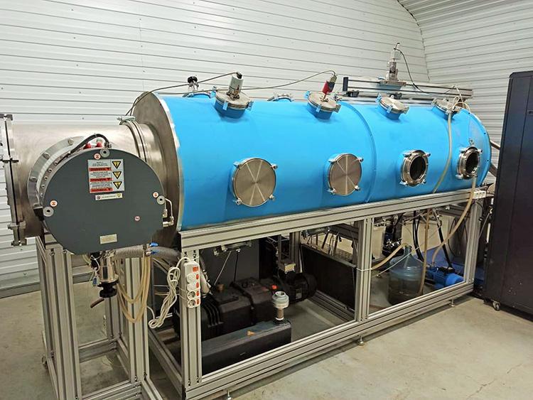 Вакуумный стенд «СуперОкс» для испытания ЭРД мощностью до 100 кВт