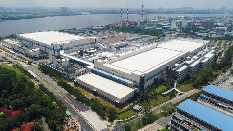 Производственный комплекс Micron в Сингапуре. Источник изображения: Micron
