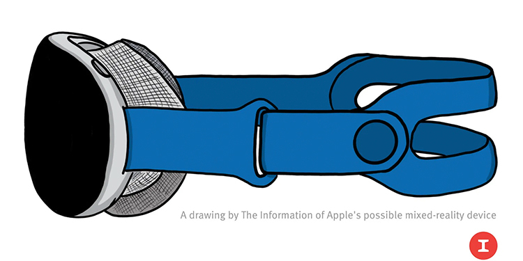 """Гарнитура смешанной реальности Apple получит два 8K-дисплея, множество камер и будет стоить $3000"""""""