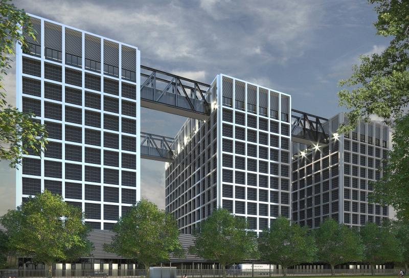 Новый ЦОД от Caransa Group будет состоять из трёх 80-метровых зданий