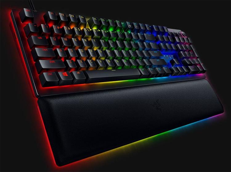"Клавиатура Razer Huntsman V2 Analog снабжена оптическими переключателями"""