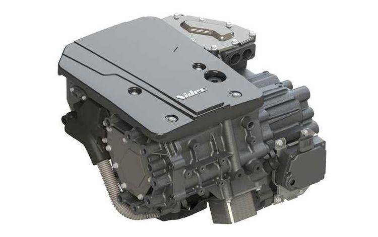 Тяговый электродвигатель производства Nidec. Источник изображения: Nidec