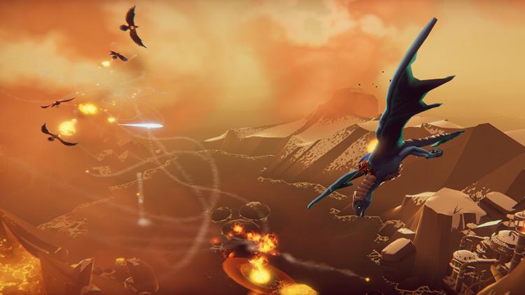 Драконы в воздухе: трейлер к запуску DLC The Hunter для The Falconeer