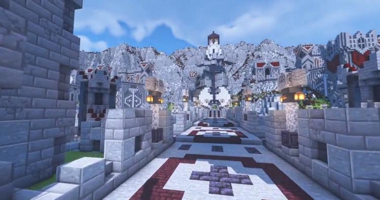 """«Твой мир чертовски крут»: энтузиаст создал в Minecraft величественный фэнтезийный город дворфов"""""""