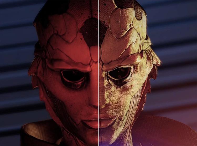 BioWare представила сравнение Mass Effect Legendary Edition с оригинальными играми