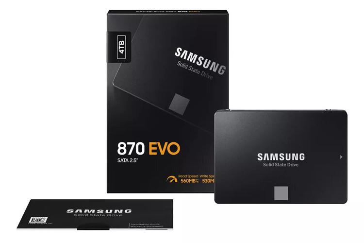 Твердотельные накопители Samsung 870 EVO SSD