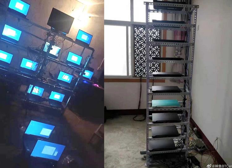 """Китайские майнеры скупают ноутбуки с видеокартами GeForce RTX 30-й серии для добычи Ethereum"""""""