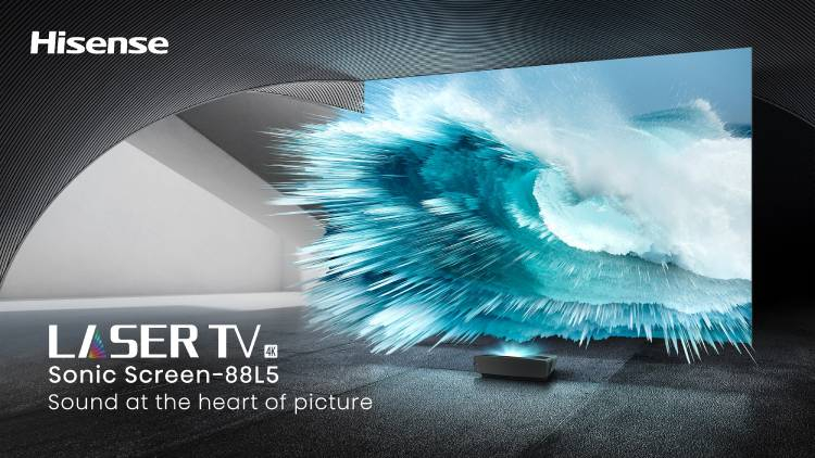 В 2021 году Hisense начнёт выпуск лазерных телевизоров TriChroma