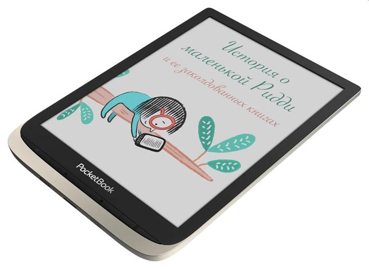 """Ридер PocketBook 740 Color получил цветной экран E Ink и ценник в 21 999 рублей"""""""