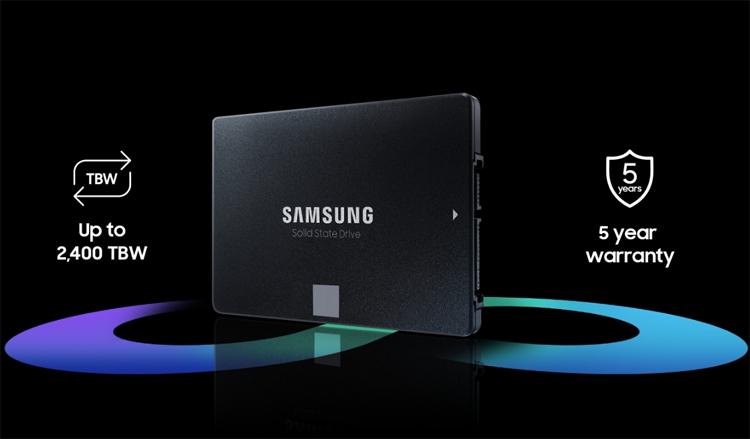 В России вышли твердотельные накопители Samsung 870 EVO по цене от 3690 рублей