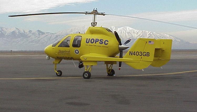Опытный автожир . Источник изображения: Skyworks Aeronautics