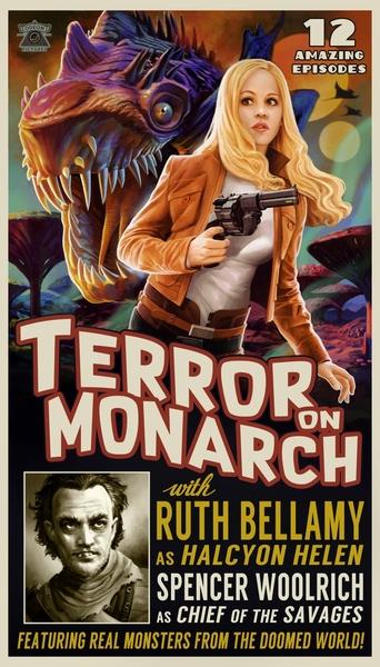 Плакат телесериала с Элен, который можно найти в основной игре