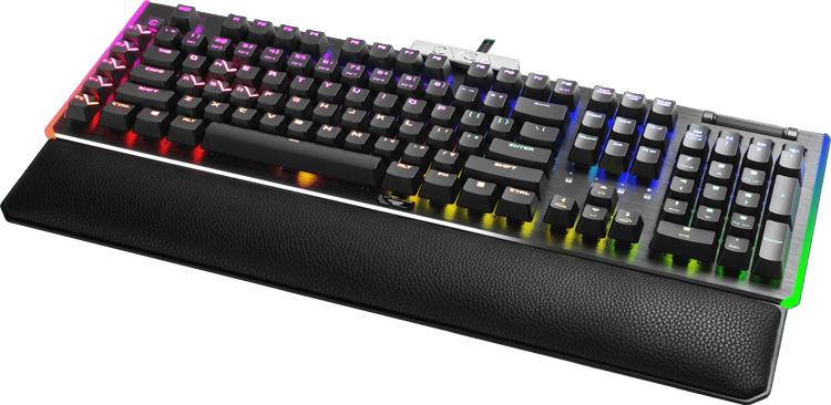 """Представлена игровая клавиатура EVGA Z20 с разноцветной подсветкой и частотой опроса 4000 Гц за $175"""""""
