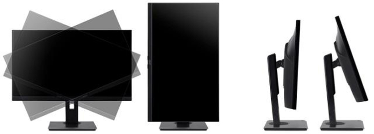 Acer представила новый 27-дюймовый монитор формата WQHD для повседневной работы