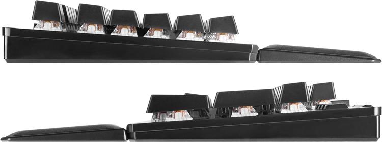 Представлена игровая клавиатура EVGA Z15 на механических переключателях Kailh