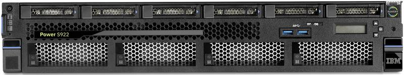 Узловой компонент новой облачной платформы IBM, сервер Power System S922