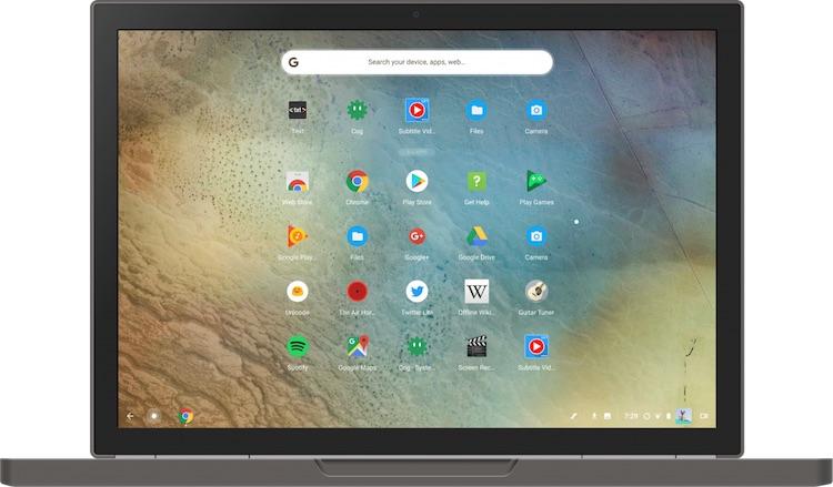 В Chrome OS скоро можно будет транслировать экран с Android-устройств и более тесно их интегрировать