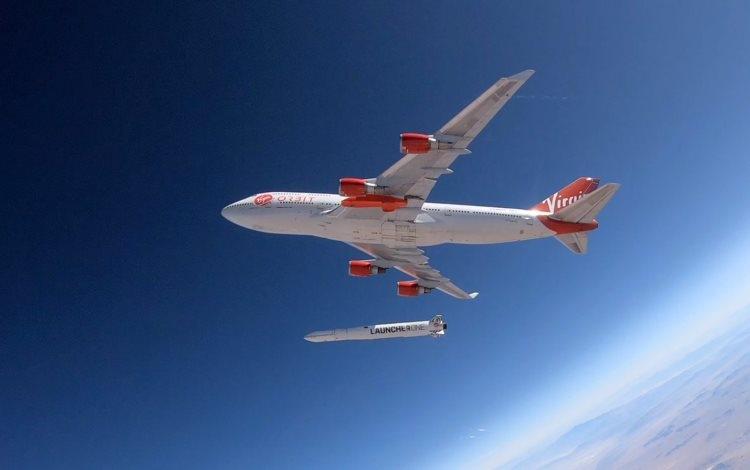 Воздушный старт. Источник изображения: Virgin Orbit