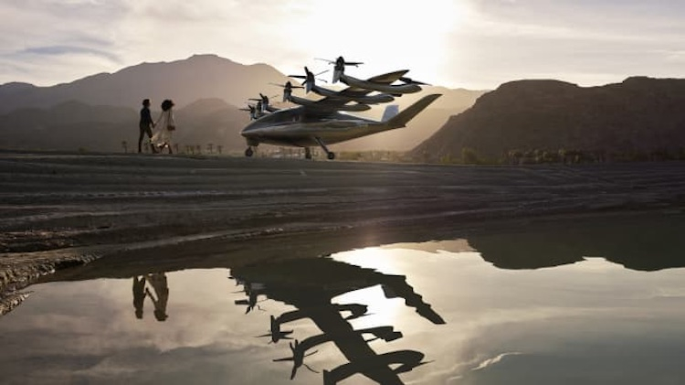 """Американская авиакомпания United Airlines заказала 200 компактных электрических самолётов Archer"""""""