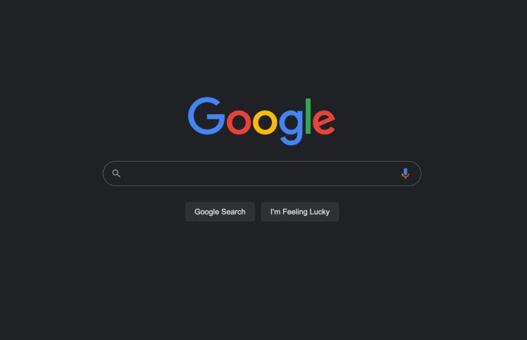 Поисковик Google получит тёмную тему в настольных браузерах