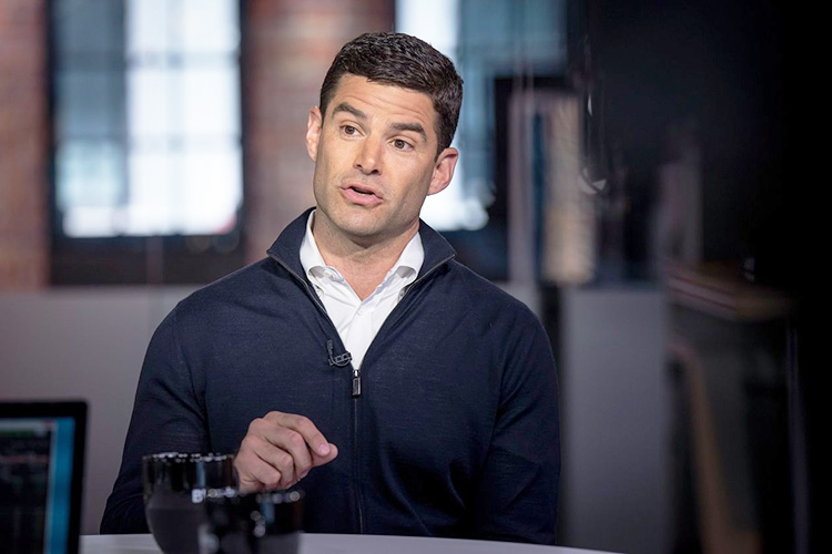 Финансовый директор Twitter Джек Дорси (David Paul Morris / Bloomberg News)