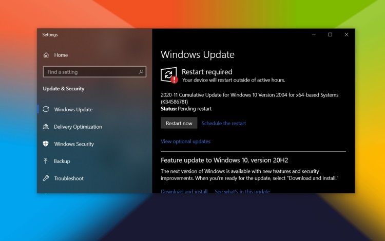 Обновления стека обслуживания в Windows 10 больше не нужно устанавливать отдельно