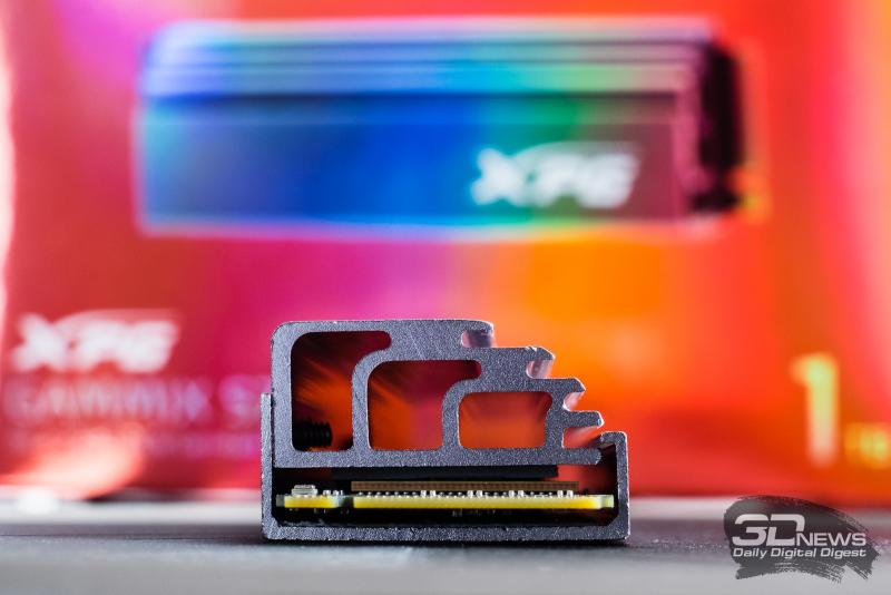 Обзор ADATA XPG Gammix S70 — SSD, который может 7,4 Гбайт/с