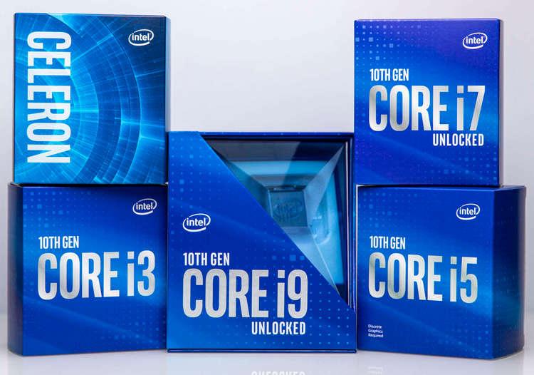 """Процессоры Intel Core 10-го поколения неожиданно подешевели по всему миру"""""""