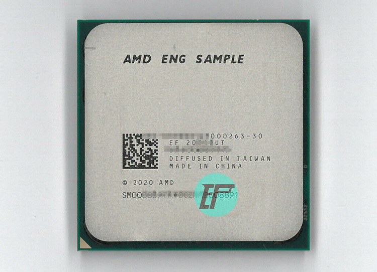 Engineering samples of the eight-core AMD Ryzen 7 5700G on Zen 3 have appeared on eBay for $500