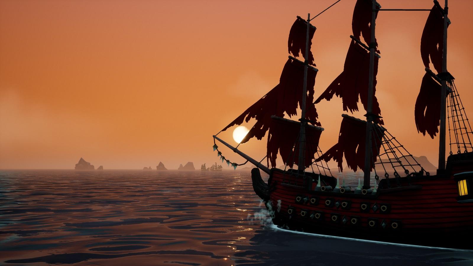 Пиратский ролевой экшен King of Seas доплывёт до релизных берегов в мае
