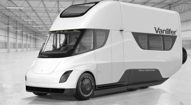 """Илон Маск назвал электрический фургон с подзарядкой от солнечных батарей лучшим транспортом для апокалипсиса"""""""