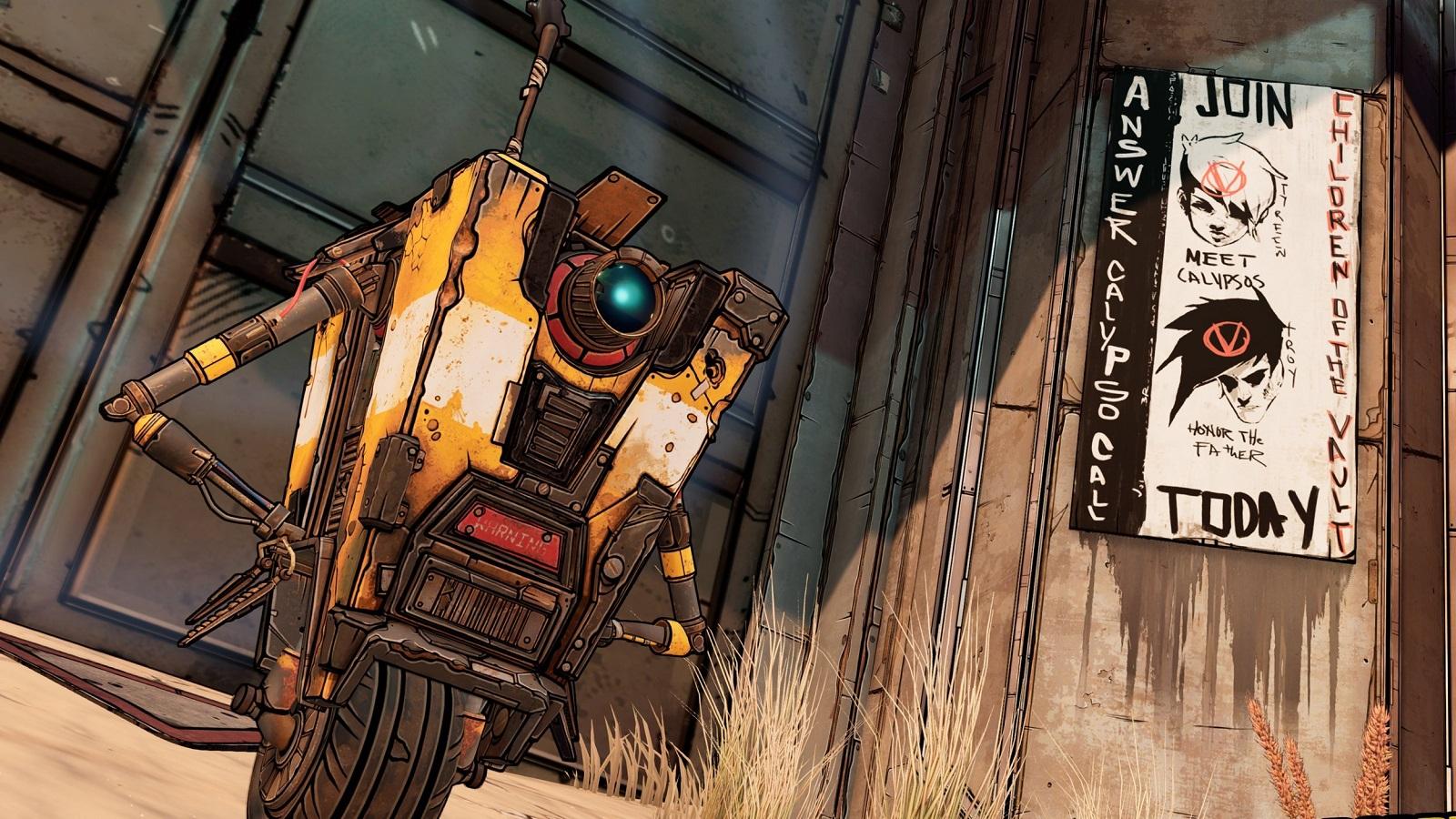 Разговорчивого робота Клэптрэпа в экранизации Borderlands сыграет Джек Блэк